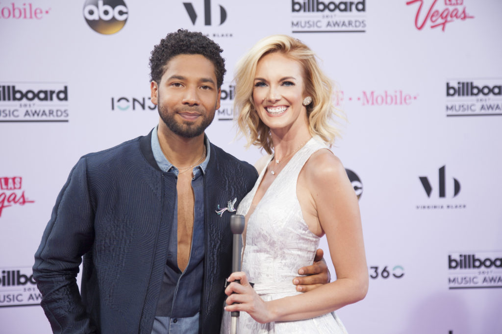 Luxe News Live 2017 Billboard Music Awards Dani Reeves Jussie smoullett